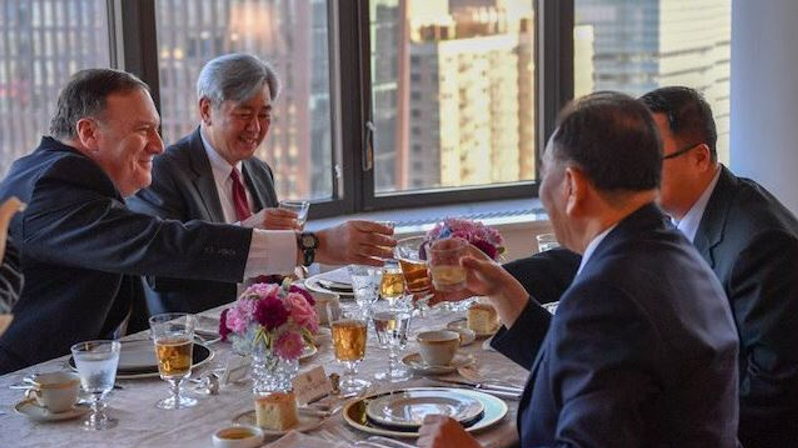 US secretary of state has 'good' meeting with top North Korean official in New York