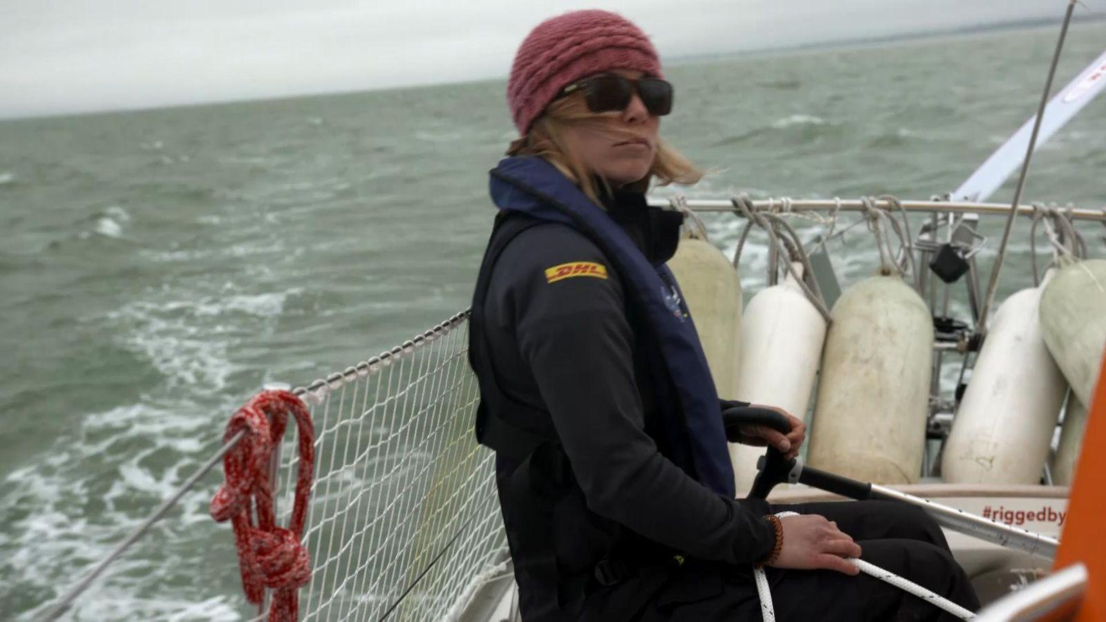 28岁的Susie Goodall将在金球奖比赛中创造帆船历史