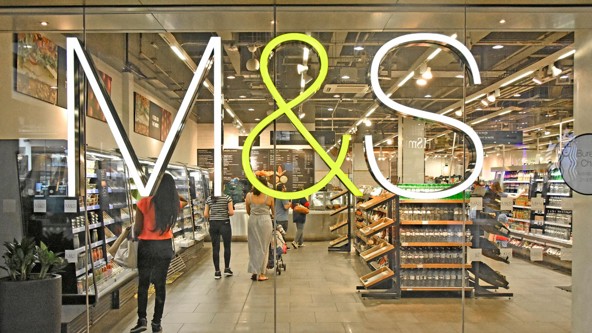 M&S store closure costs result in 62% annual profit plunge | Business News | Sky News