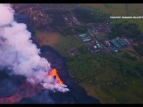 Kilauea volcano erupts in Hawaii
