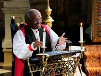 Bishop Curry delivered a sermon at the royal wedding