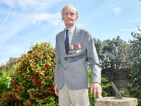 D-Day veteran Jim Booth, 96, Mr Booth was attacked in his home by Joseph Isaacs