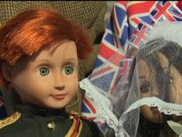 Harry doll owned by royalists
