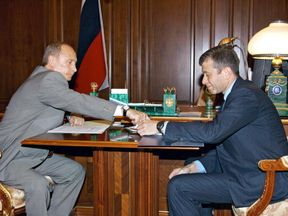 Abramovich has benefited from Vladimir Putin's rise