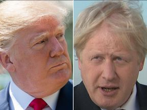 Boris Johnson is backing Donald Trump for the Nobel Peace Prize