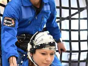 Weightlessness wakes and disorients the brain, ESA has discovered