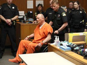 Suspected Golden State Killer Joseph DeAngelo appeared in court on Friday