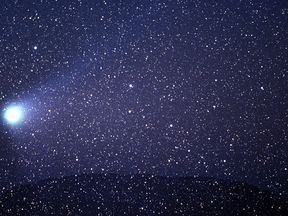 Halley's Comet last passed the Earth in 1986 and appears every 74 to 79 years