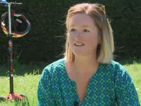 Kathryn Grant, 37, developed postpartum psychosis