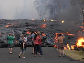 Hannah Thomas-Peter witnesses Kilauea's destruction
