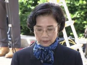 Lee Myung-hee, wife of Korean Air Chairman Cho Yang-ho