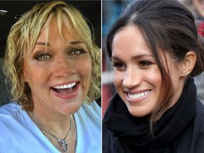 Meghan Markle and her half sister Samantha