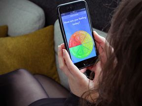 The mental health app will address a large public health issue. Pic: NHS Digital