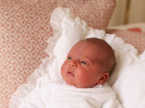 Prince Louis is fifth in line to the throne