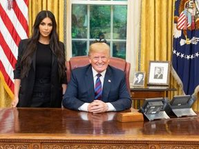 kim kardashian at white house