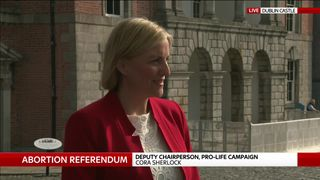 Deputy Chairperson Pro-Life Campaign Cora Sherlock