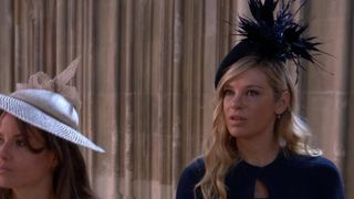 Chelsy Davy arrives at wedding of Prince Harry and Meghan Markle