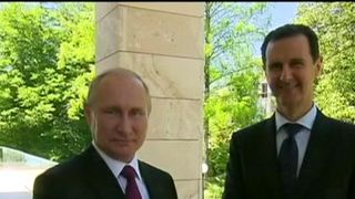 President Putin meets with Bashar al Assad in Russia