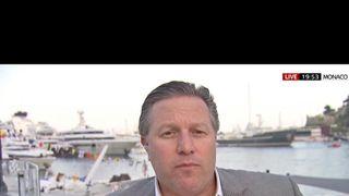 Zak Brown, chief executive of McLaren Racing, pictured in Monaco