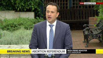 Irish PM calls referendum result a quiet revolution