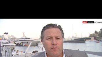 Zak Brown, chief executive of McLaren Racing, pictured in Monaco