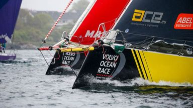 Volvo Ocean Race arrives in Cardiff