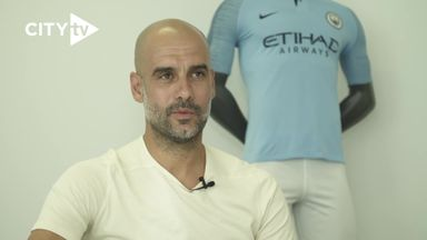 Pep 'so excited' to commit until 2021