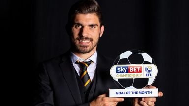 Neves wins Championship Goal of the Month