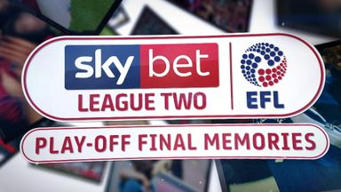 League Two Play-Off Final Memories