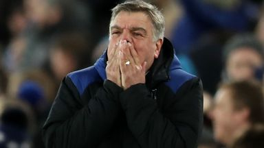 Allardyce's future regularly questioned