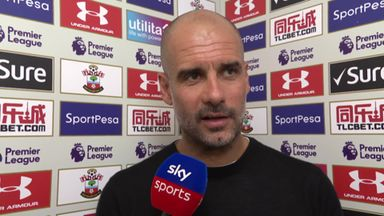 Guardiola speechless at record