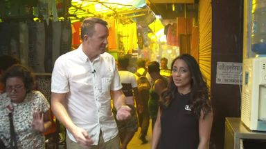 Cork & Guha go to Kolkata market