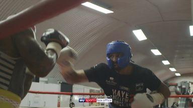 Haye sparring footage!