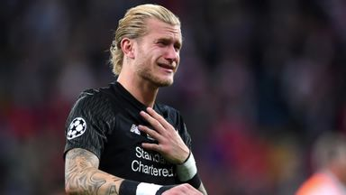 Liverpool back Karius after CL errors