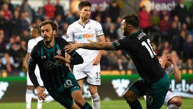 Swansea 0-1 Southampton
