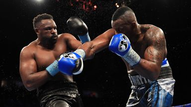 Whyte: Chisora best option outside title shot