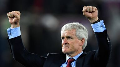 Hughes hails 'immense' Saints