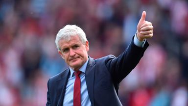 Hughes happy with early deadline