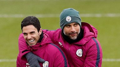 Arteta happy with Arsenal decision