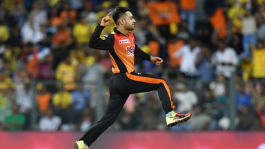 IPL: Sunrisers v Kolkata highlights