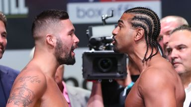 Bellew v Haye 2: The Weigh In