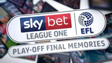 League One Play-Off Final Memories