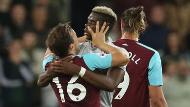Pogba, Noble 'looked in love'