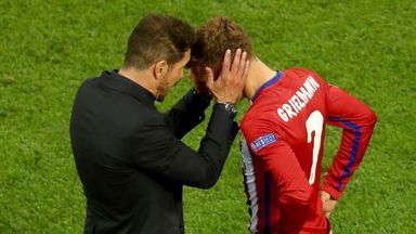 Simeone relaxed on Griezmann future