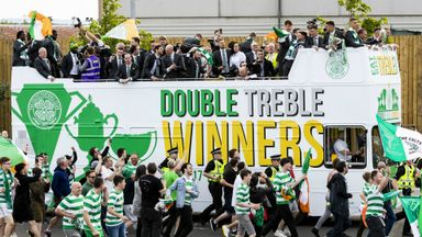 Celtic hit the streets