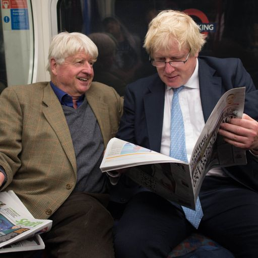 Boris Johnson's father criticised for flying to Greece during COVID-19 pandemic