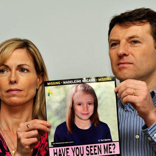 Madeleine McCann's disappearance
