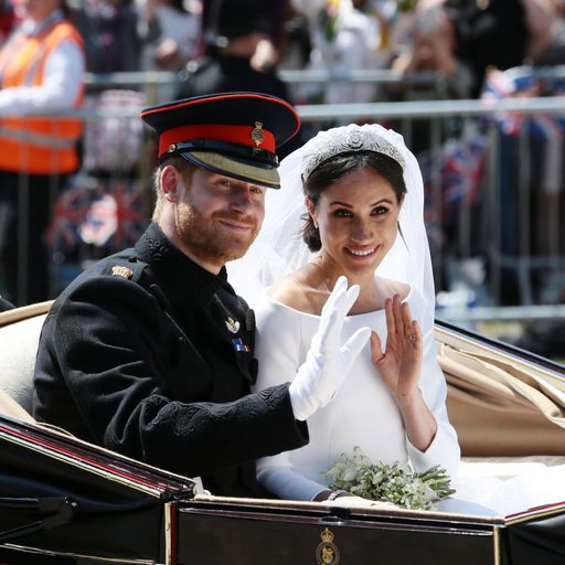 Harry and Meghan's first overseas tour revealed