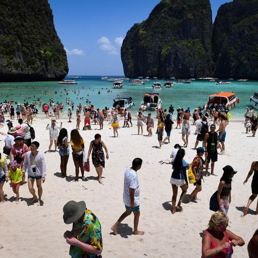 Thai beach from DiCaprio film shut indefinitely