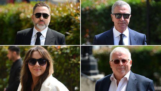 Clockwise from top left, David Walliams, Graeme Souness, Christopher Biggins, Martine McCutcheon